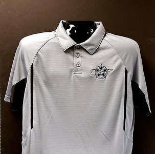 Holloway Dry Excel Polo - Graphite & Black 00003