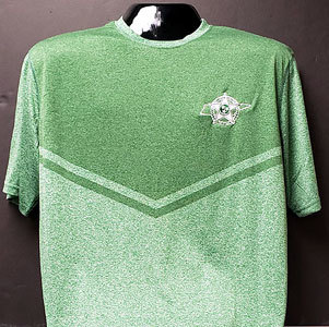 Holloway Dry Excel Seismic Tee - Forest Green 00012