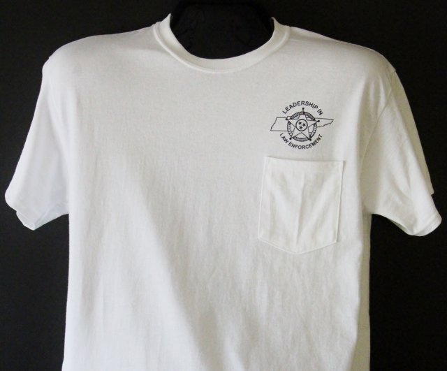 Gildan Pocket Tee - White