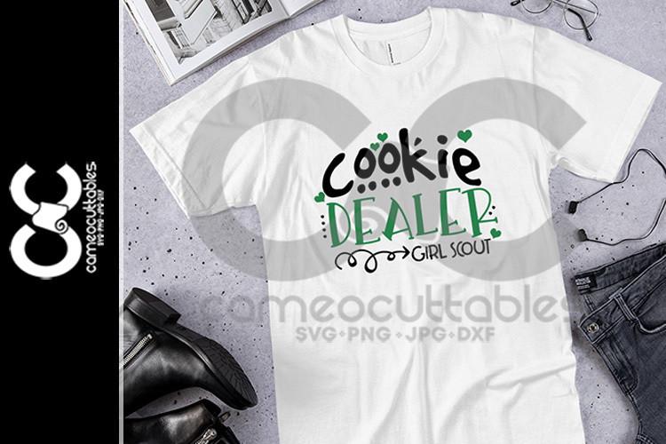 Cookie Dealer SVG,JPG,PNG,DXF