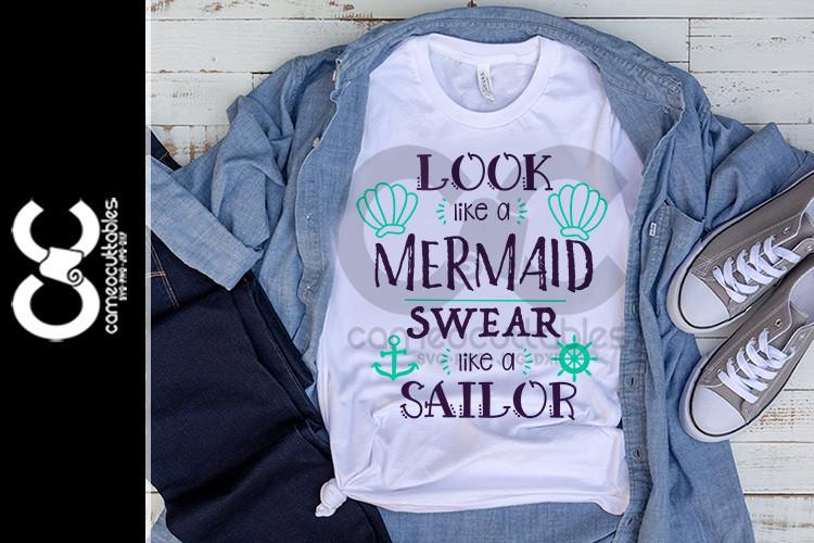 Look Like A Mermaid SVG,JPG,PNG,DXF