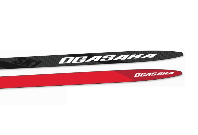 Ogasaka racing ski SK1 RED