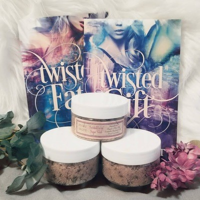 Twisted Facial Sugar Scrub  (Lavender)