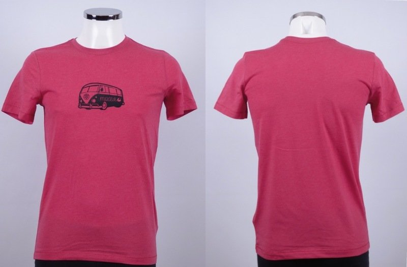 surf camper heather red