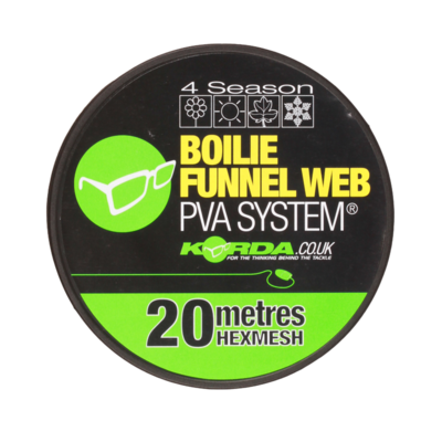 Boilie Funnel Web Hexmesh 20 m Refill