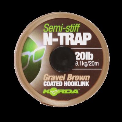 N-Trap Semi Stiff  Gravel Brown