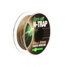 N-Trap Semi Stiff 30lb Gravel Brown