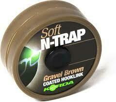 N-Trap Soft 20lb Gravel Brown
