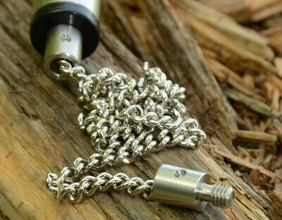 STAINLESS CHAIN STAINLESS ENDED 9 INCH