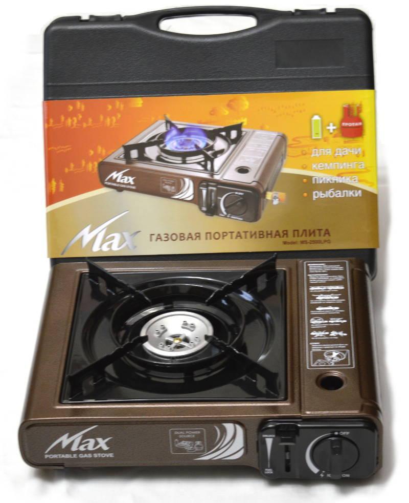 Газовая портативная плита MS-2500LPG gas-ms-2500lgp