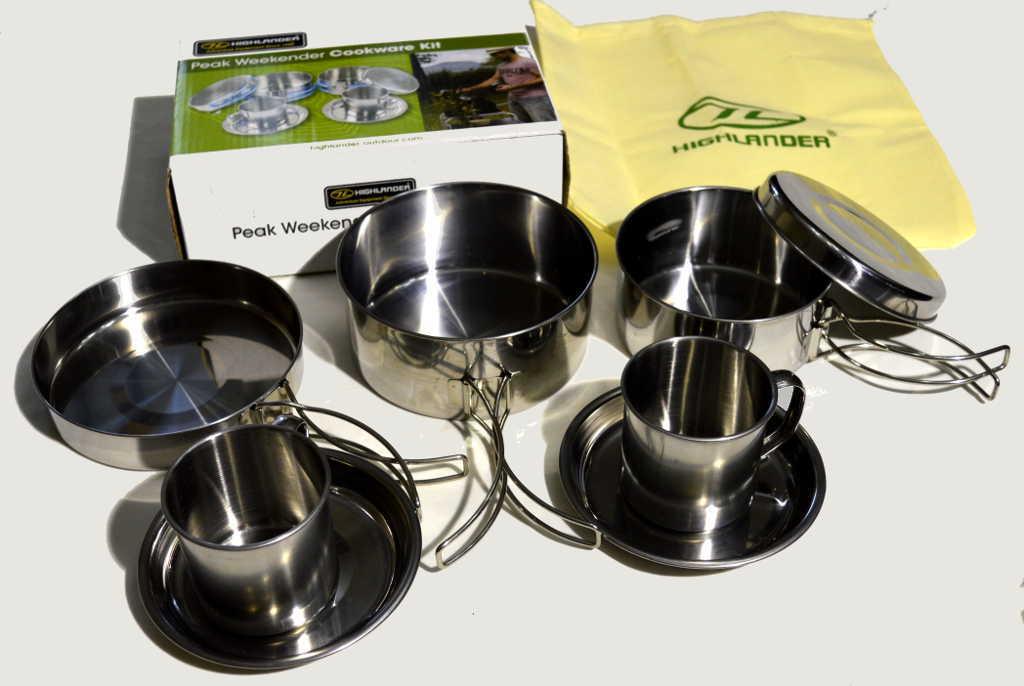 Набор посуды Highlander Peak Weekender Cookware Kit a000001