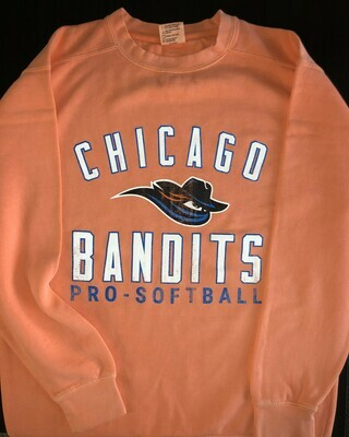 Bandits Coral Faded Crew neck