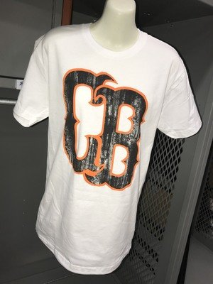 CB Logo Distressed T-Shirt