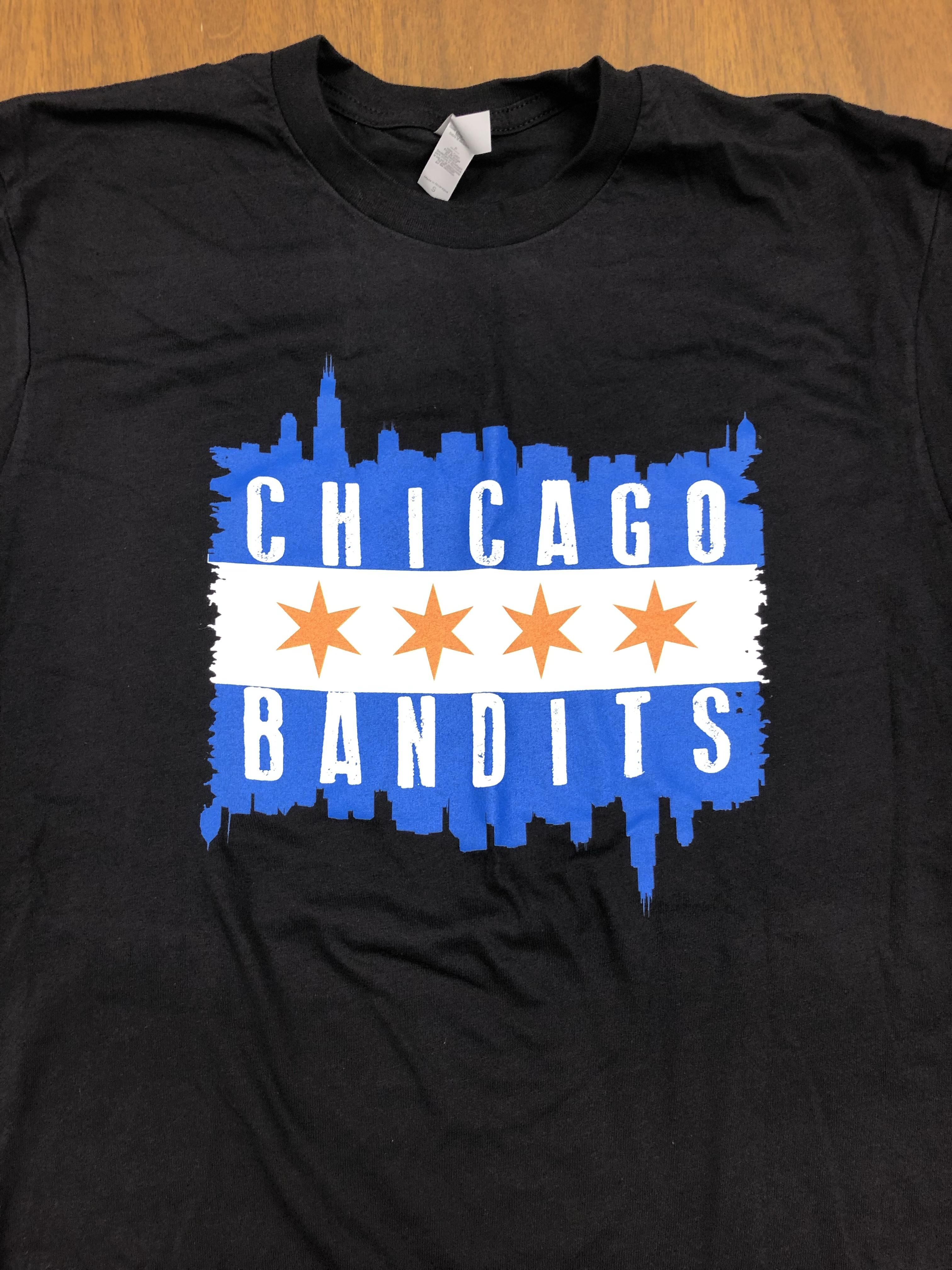 Chicago Flag Skyline T-shirt 18