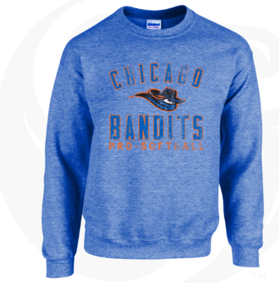 Bandits Faded Crewneck