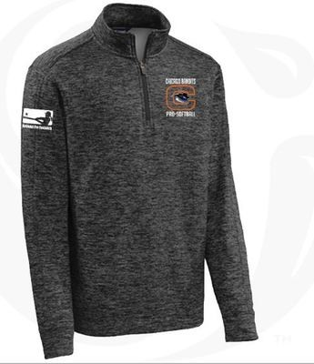 Quarter Zip Dark Gray