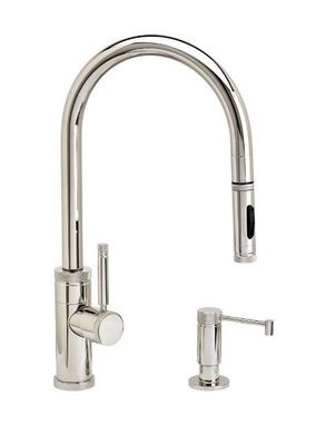 INDUSTRIAL PLP PULLDOWN FAUCET 2 PIECE SUITE– TOGGLE SPRAYER