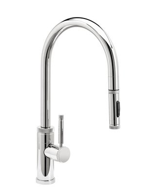 INDUSTRIAL PLP PULLDOWN FAUCET – TOGGLE SPRAYER