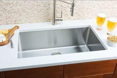 Hahn Small Radius Extra Large Single Bowl Sink Small Radius Series