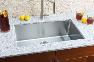 Hahn Small Radius Large Single Bowl Sink Small Radius Series
