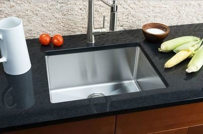 Hahn Small Radius Medium Single Bowl Sink Small Radius Series