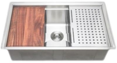 Wells Single Undermount Sink - 3 D Series Prep Center