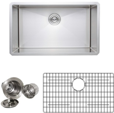 Wells Single Undermount Sink package
