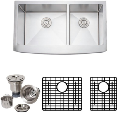 Wells Double Farmhouse Sink package