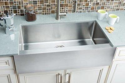 Hahn Flat-Apron Farmhouse Extra Large Single Bowl Sink