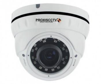 PX-IP-DNT-V40-P/A/C купольная уличная IP видеокамера, 4.0Мп, f=2.8-12мм, POE, аудио вход,SD