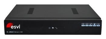 EVD-8108W-7 IP видеорегистратор 8 потоков 1080P, H.265, 1HDD