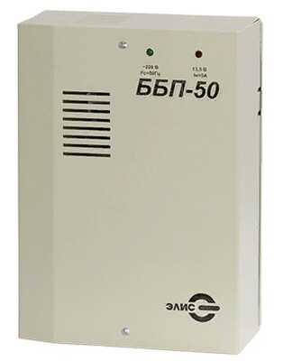 ББП-50 исп.1 блок бесперебойного питания 12В, 5А, под акб 7Ахч