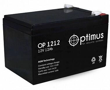 OP 12-12 Аккумуляторная батарея 12В, 12А*ч