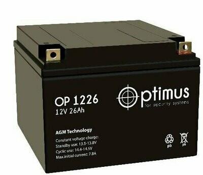 OP 12-26 Аккумуляторная батарея 12В,26А*ч