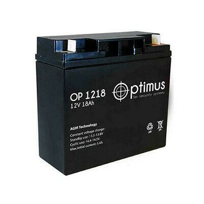 OP 12-18 Аккумуляторная батарея 12В, 18А*ч