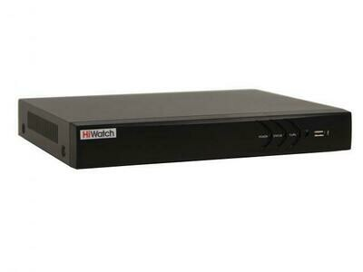 DS-N304P(B) - 4-х канальный IP-регистратор с PoE