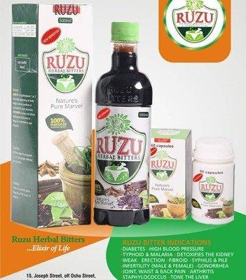 Ruzu Bitters 200ml Carton
