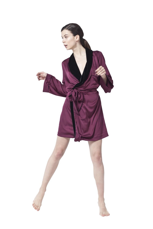 Burgundy Red Robe