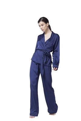 Midnight Blue Pajama Set