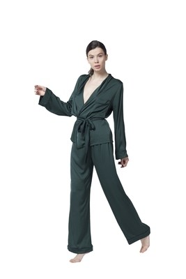 Royal Green Pajama Set
