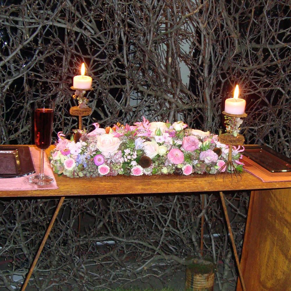 Tischdeko Hochzeit 'TD05'