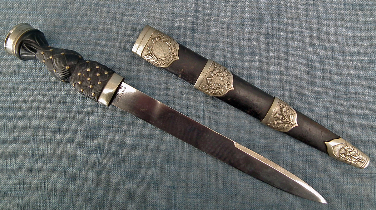 SOLD 20th Century Scottish Highland Dirk In Military Pattern