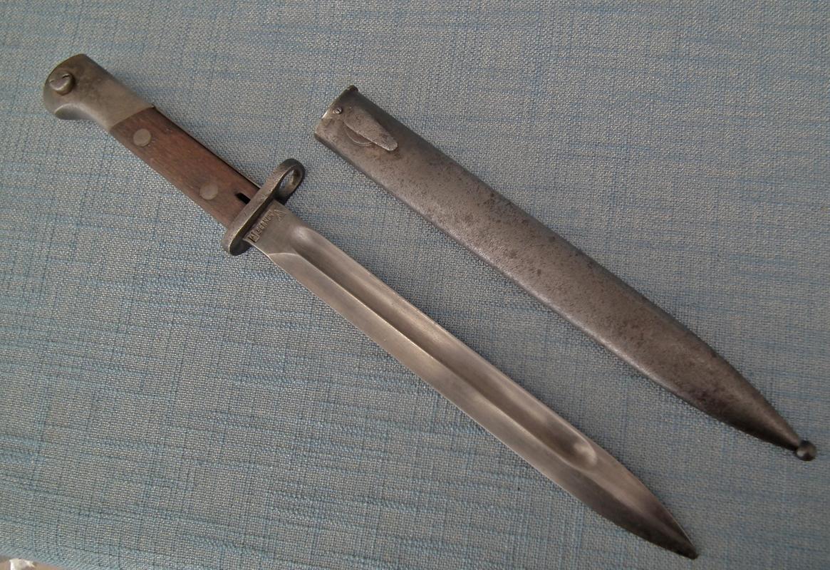 SOLD Rare WWII Polish Army Bayonet PERKUN For a Mauser Rifle