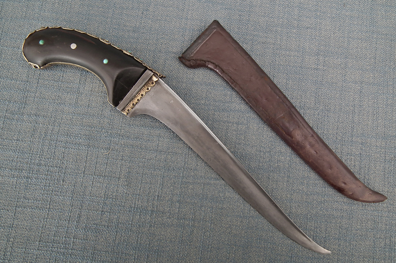 SOLD Antique Islamic Central Asian Dagger Pesh-Kabz Central Asia Bukhara Or Samarkand