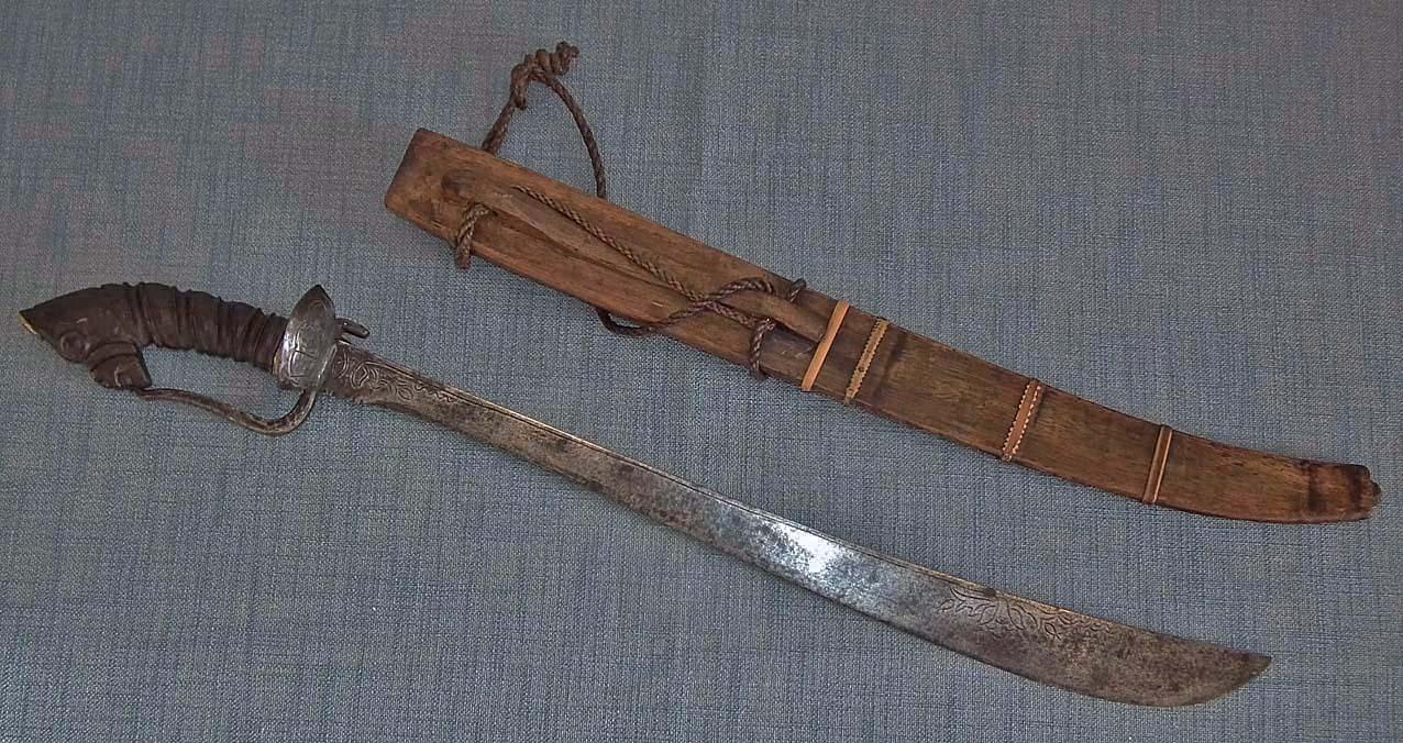 SOLD Rare Museum Quality Antique  Sword Bolo Filipino Philippine