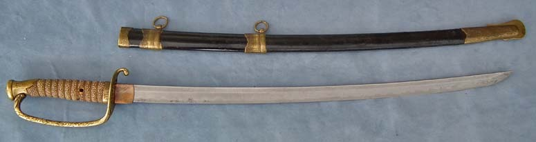 SOLD Antique Japanese Samurai Katana sword 19th century Meiji Period Kyu-gunto