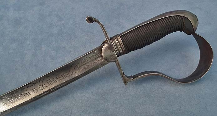 SOLD Antique Hungarian Presentation Sword, Sabre from the Hungarian Revolution 1848