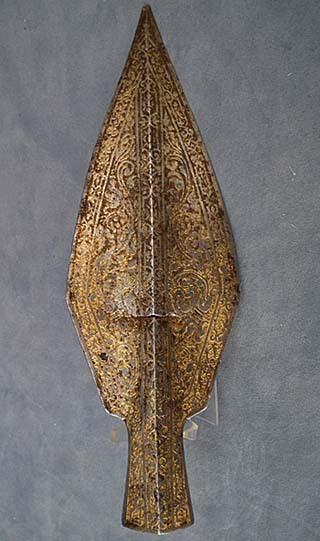 SOLD Antique 16th century Renaissance Parade Boar - Spear Head