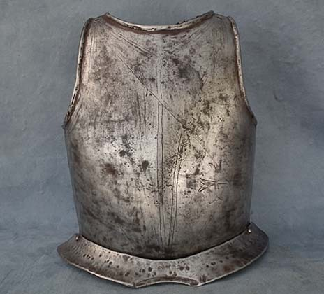 SOLD Antique 16th century European Knight of Malta breastplate Armour