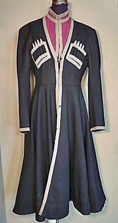 SOLD Antique Imperial Russian Military Uniform Kuban Cossack Cherkeska
